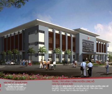 """<strong style=""""color: #ff8c00; font-size: 20px;"""">Trúng thầu dự án Trung tâm hành chính huyện Long Hồ </strong>"""